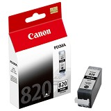 CANON Black Ink Cartridge [PGI-820B] - Tinta Printer Canon